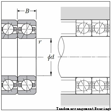 BARDEN HS71914E.T.P4S Tandem arrangement Bearings