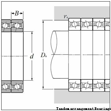 BARDEN XC114HE Tandem arrangement Bearings