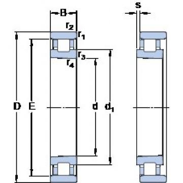 70 mm x 110 mm x 20 mm  SKF N 1014 KPHA/SP Super-precision bearings
