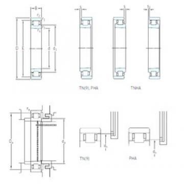 95 mm x 145 mm x 24 mm  SKF N 1019 KTN9/HC5SP Super Precision Sealed Angular Contact Ball Bearings