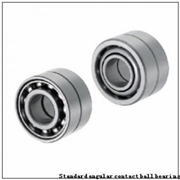 90 mm x 125 mm x 18 mm  NSK 90BER19XE Standard angular contact ball bearing