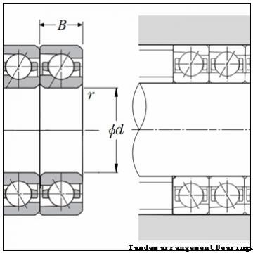 320 mm x 440 mm x 118 mm  NACHI NNU4964 Tandem arrangement Bearings