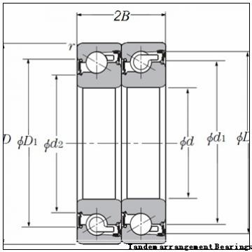 NTN B709E.T.P4S0.015 Tandem arrangement Bearings