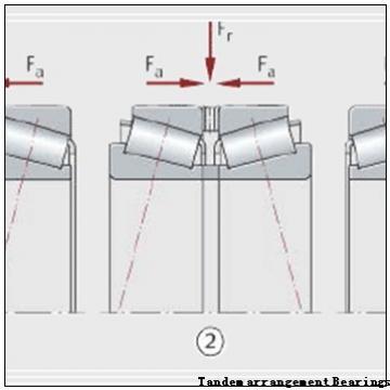 105 mm x 190 mm x 36 mm  SKF 7221 CD/HCP4A Tandem arrangement Bearings