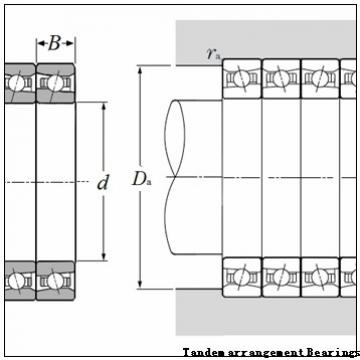 45 mm x 75 mm x 23 mm  NSK NN3009ZTBKR Tandem arrangement Bearings